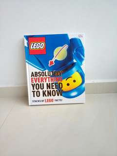 LEGO facts book