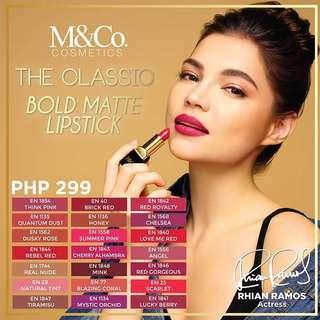 Bold Matte Lipstick