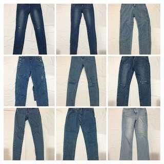牛仔褲$390/件