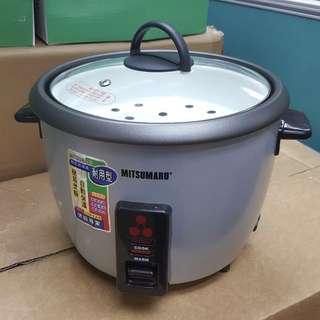 【新品】MITSUMARU 三源電器 簡易電飯煲 Simple Rice Cooker (Model: MC-10)