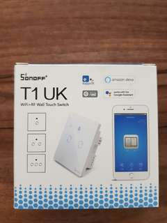 Sonoff T1 double gang smart switch