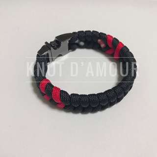 (Perfect Couple Gift) Paracord Bracelet 3rd Edition by Knot d'Amour