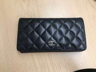 Chanel Classic Black Wallet