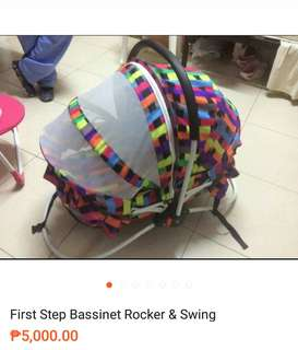 Bassinet Rocker $ Swing