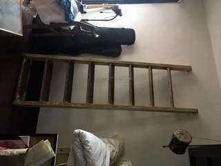 老檜木厚實梯