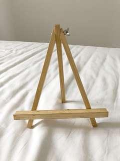 Wooden A-Frame Easel