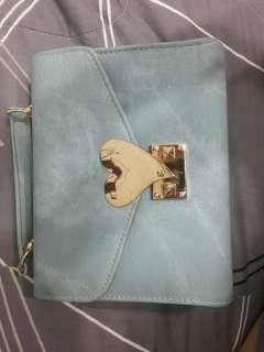 🚚 水藍手提包