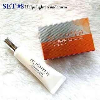Nlighten Set 8 Lighten Underarm