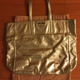 (💰⬇️)Miu Miu leather tote bag