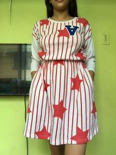 Captain America dress