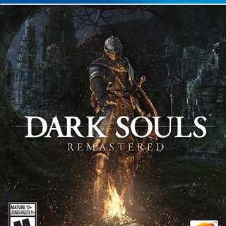 全新未拆 PS4 Dark Souls Remastered (有特典)