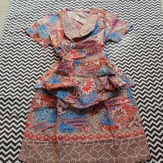 Niki batik dress