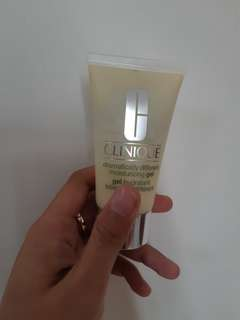 Clinique dramatically moisturizing gel
