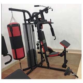 Home Gym 3 Sisi Sandsak Alat Olahraga Fitness Pembentuk Otot Tubuh