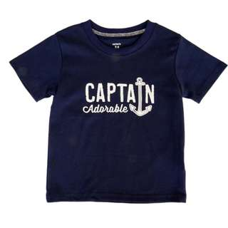 Ah hoy! Captain Adorable Tee (6-24M)