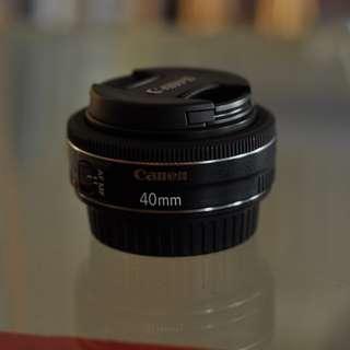 Canon EF 40mm STM(Pancake Lens)