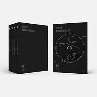 Unsealed Ver R love yourself tear album