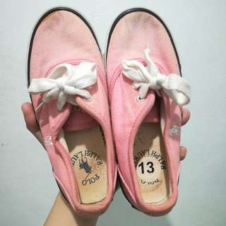 Polo by Ralph Lauren Pink Sneakers / Shoes