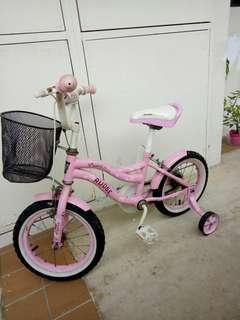 Kids Bicycle (BMX Pink for Girls)