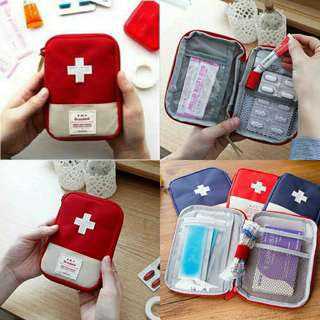 First Aid Kit Organizer Pouch