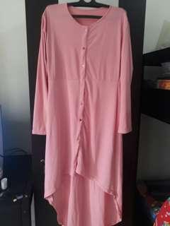 Tunik pink model pinguin