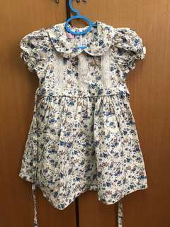 Lovely Lace Baby Flowery Dress