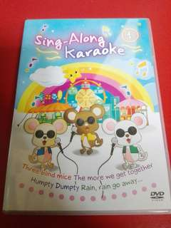 Kids Sing-Along Karaoke DVD 1