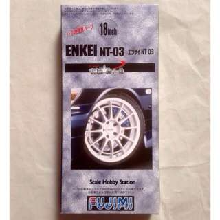 Fujimi ENKEI NT-03 18 inch Wheel & Tire Set