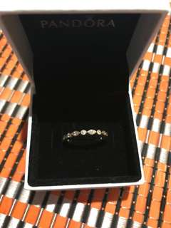 Pandora 14ct Yellow Gold CZ