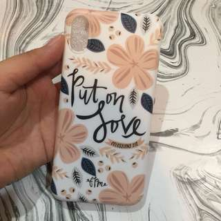 Floral case iphone x