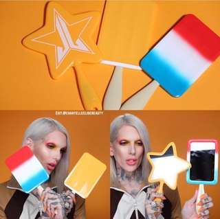 Jeffree Star Cosmetics Summer 2018 Collection Hand Held Mirrors & Makeup Bags