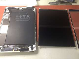 Repair motherboard and replace LCD,battery