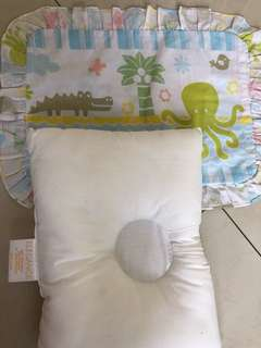 Elegance baby pillow+cover
