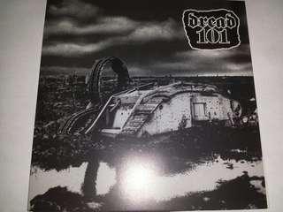 "Vinyl 7"" Record: Dread 101/V.I.R.–Dread 101 / V.I.R. - Hardcore, Crustcore"