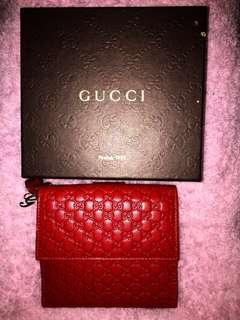 全新Gucci 銀包 名牌 真品