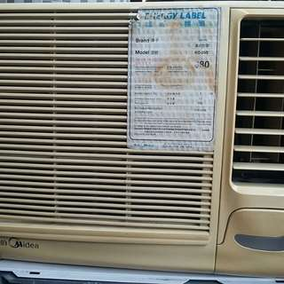 Midea  1匹冷氣機   有能源標笺