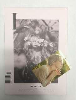 Taeyeon 'I' Album