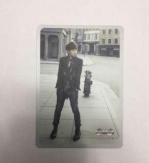 Infinite Destiny Album Sunggyu Photocard
