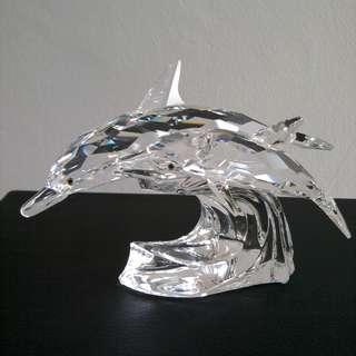 24 Swarovski Crystal - AE 1990 DOLPHINS