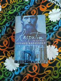 rasputin, the last word by edvard radzinsky