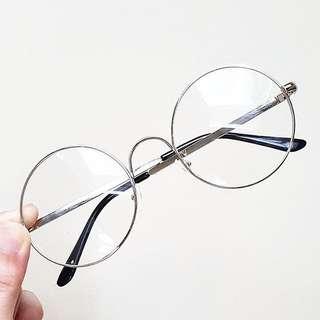 Silver Round Specs