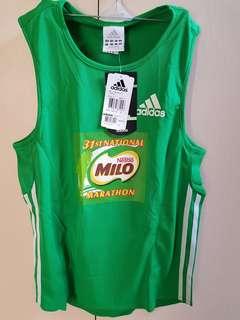 New! Original Adidas sportswear (sponsored by Milo)