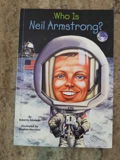 English Book for kids: Who is Neil Armstrong