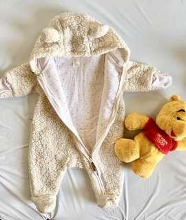 Baby White Bear Jacket