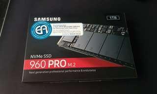 Samsung 960 pro 1TB NVME m.2 drive