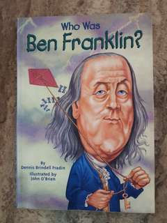English book for kids : Who was Ben Franklin
