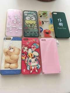 iPhone 5s/se case可以7仔印花換
