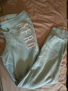 Light blue aero sweatpants