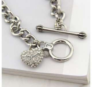 Juicy Couture heart bracelet (free shipping)