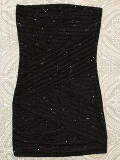 Forever 21 Black Tube Dress